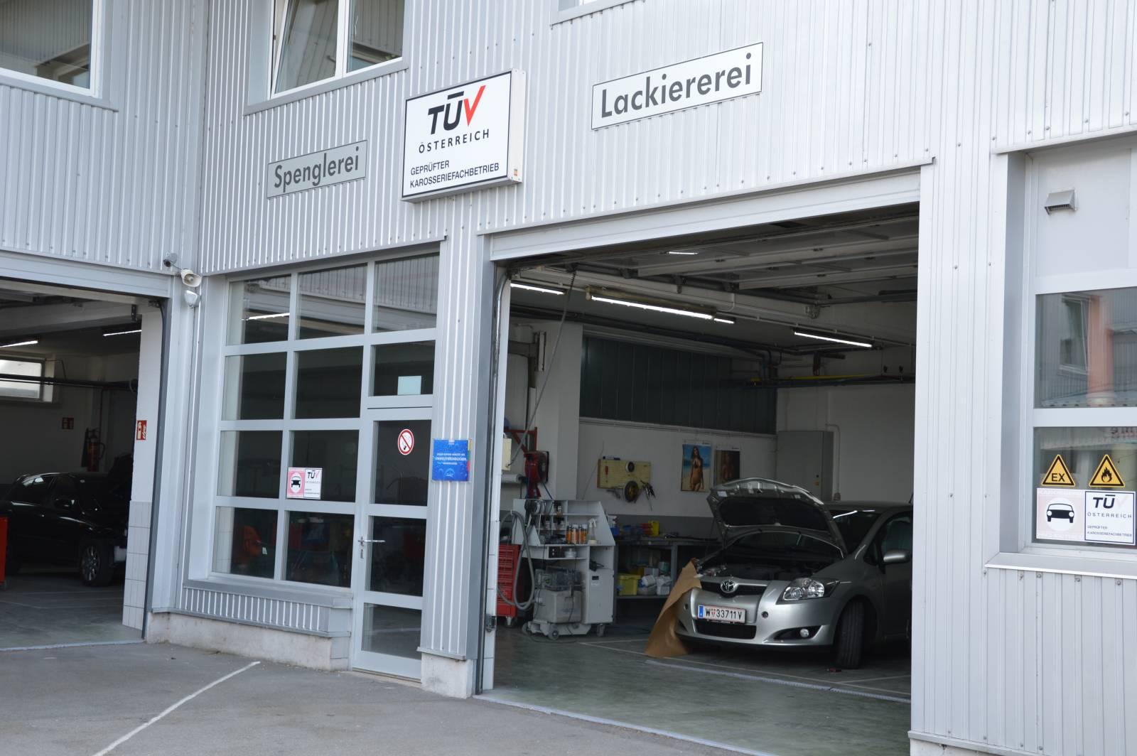 Aktionen Karosserie-Lack-Fahrzeugtechnik