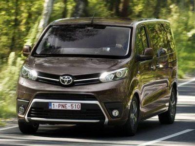 Der neue Toyota Proace Verso