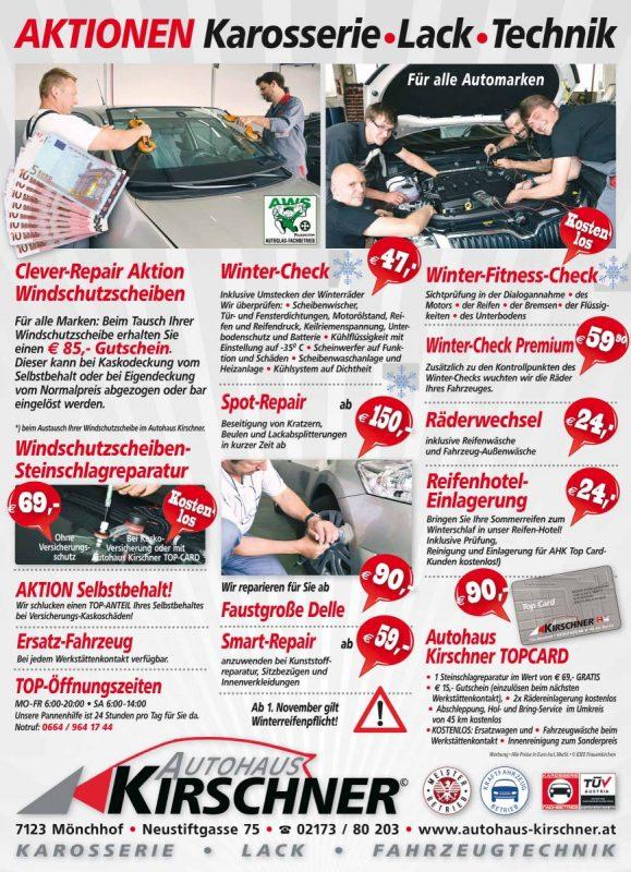 Aktionen Karosserie Lack Fahrzeugtechnik