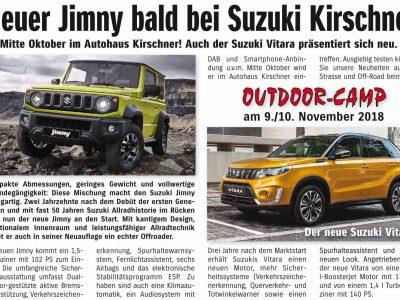 Der neue Suzuki Jimny – bald bei uns