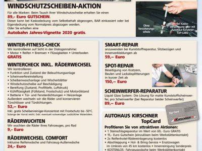 Windschutzscheibenaktion – Vignette Gratis!