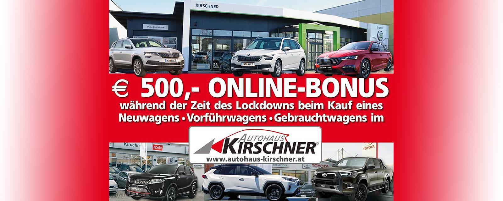 bei Autohaus Kirschner GmbH in 7123 Mönchhof